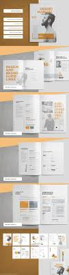 keynote brochure template 47 best brand book images on editorial design charts