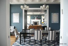 Black Wood Dining Room Table by Dining Room Chairs With Yellow Gray And Blue It Looks Awesome