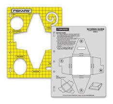 fiskars shapecutter template and scoring guide box 1 ebay