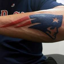 40 new england patriots tattoo designs for men nfl ink ideas
