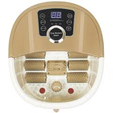 best choice products portable foot spa bath massager with heat and