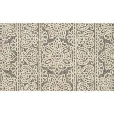 Taupe Shag Rug A354 Taupe And Ivory Selena Lace Rug 3x5 Ft At Home At Home
