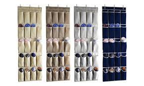 shoe rack hanging hanging shoe rack organizer groupon goods