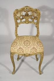 Louis 15th Chairs A Louis Xv French Rococo Carved And Gilt Side Chair