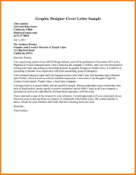 graphic designer cover letters cover letter exle financial intended for exles