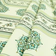 Regency Stripe Upholstery Fabric Freedom Printed Velvet Fabric Collection Regency Striped Floral