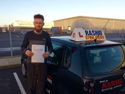 daniel passed his manual car driving test at uxbridge driving test