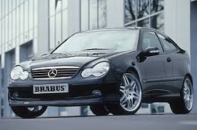 mercedes c class coupe tuning mercedes c class sports coupe brabus