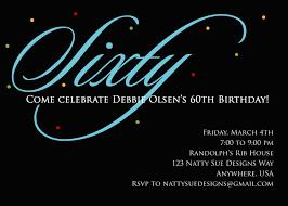 surprise 60th birthday party invitation wording dolanpedia