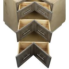 how to make a corner base cabinet check out conestoga s new base corner pie cut 3 drawer