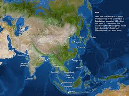 Future Map Of The World by Map Of Sea Level Rise Asia Future World Pinterest