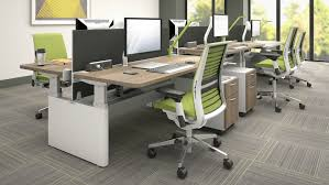 Tables With Bench Seating Series Height Adjustable Office Benches U0026 Tables Steelcase