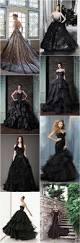 25 gorgeous black wedding dresses wedding app gold weddings and