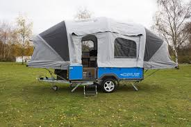 How To Make A Camper Awning Air Opus Camping Trailer Inflates Into A Home Away From Home In 90
