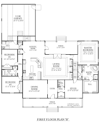 Home Floor Plans With Furniture Modern House Plans With Rear View U2013 Modern House