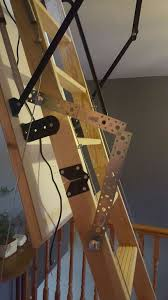 automatic loft attic ladder 10 steps with pictures