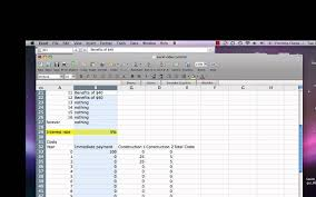 Cost Analysis Excel Template Excel Cost Benefit Tutorial Mp4