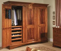 Cherry Armoire Wardrobe Organizing All Sorts Of Apparels In One Place In An Armoire