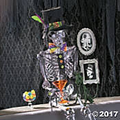 halloween skulls and skeletons halloween party supplies haunted