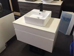 asti 600mm white gloss polyurethane wall hung bathroom vanity