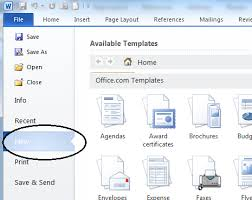 Resume Templates Word 2003 How To Get Resume Templates On Microsoft Word 2010 How To Get