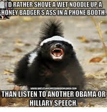 Honey Badger Memes - honey badger sass in a phone booth wwwunclesamsmisguidedchildrencom