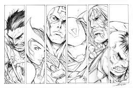 guarda tutti disegni da colorare degli avengers www