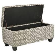 buy habitat jacobs grey upholstered storage bench at argos co uk