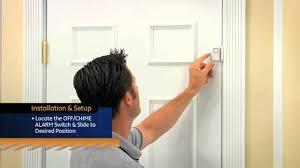 Interior Door Alarms Ge Personal Security Window Door Alarm