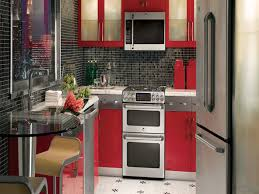 Small Country Style Kitchen Kitchen Kitchens Charming Red Kitchen With Modern Kitchen Cabinets Small