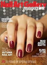 nail art gallery mag u0027s oct nov cover look style nails magazine