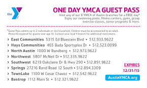 Ymca Of South Florida Join The Y Today Membership Ymca Of Austin Austin Tx