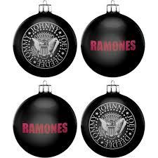 ramones logo christmas ornament rockabilia