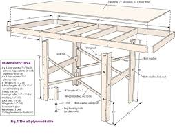 Plans For Wooden Toy Trains by Build A Table For A Small Model Railroad Modelrailroader Com