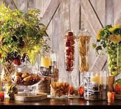 decorate or stage your home for fall with apothecary jars dare to