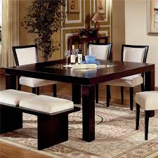 white wood dining room table casual dinign room home design ideas