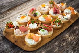 canapes finger food how finger food has evolved