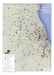 Chicago Community Area Map by Local Technical Assistance Cmap