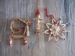 german straw ornaments make or buy them