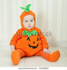 Infant Pumpkin Halloween Costumes Halloween Costume Stock Images Royalty Free Images U0026 Vectors