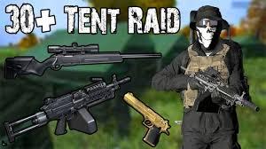 30 tent base raid m249 scout deagle dayz standalone 0 62