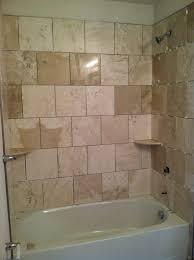 Porcelain Bathroom Tile Ideas Bathroom Shower Tub Tile Ideas Door Closed Calm Wall Paint Home