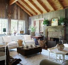 cottage style living rooms cottage living love the tuffet in