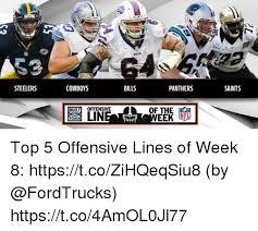 Cowboys Saints Meme - blls steelers cowboys bills panthers saints bul offensive of the