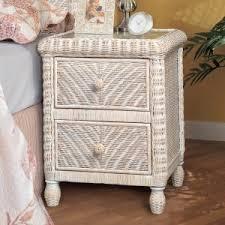 rattan wicker nightstands u0026 bedside tables hayneedle