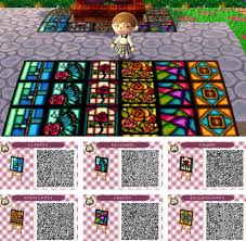 acnl starter hair guide animal crossing new leaf qr codes oh god that blue path i can