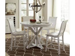 progressive furniture willow counter height dining table progressive furniture willow dining 5 piece round counter height