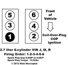 2 7 liter 4 cyl chrysler firing order ricks free auto repair