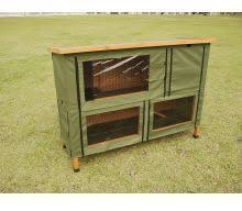 double rabbit hutch cover standard from pet shopper