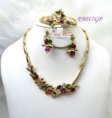 african gold necklace images African gold plated jewelry sets uk jpg